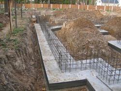 Строительство фундамента под ключ. Иркутские строители.